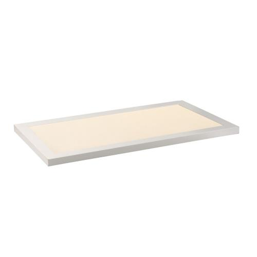 Maxim Lighting 57772WTWT Sky Panel-22W 4000K 1 LED Flush Mount-11.75 Inches wide by 0.75 inches high