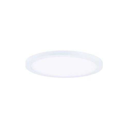 Maxim Lighting 57812 Wafer-15W 4000K 1 LED Round Wall/Flush Mount-7 Inches wide by 0.5 inches high