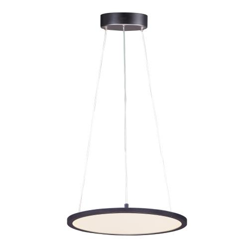 Maxim Lighting 57836 Wafer-36W 1 LED Round Pendant-15 Inches wide by 0.5 inches high