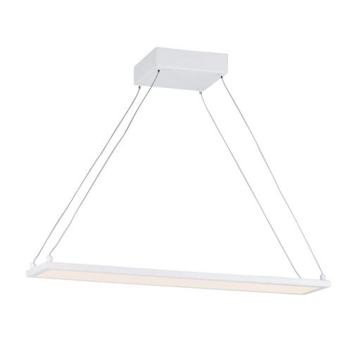 Maxim Lighting 57842 Wafer-18W 1 LED Linear Pendant-4.25 Inches wide by 0.5 inches high
