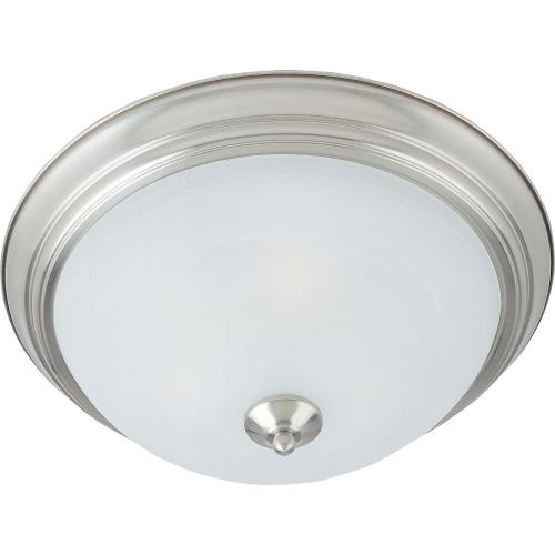 Maxim Lighting ESS-3FM Essentials-3 Light Flush Mount in Utility style