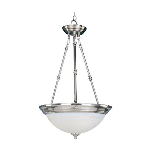 Maxim Lighting ESS-IBP Essentials-3 Light Invert Bowl Pendant in Builder style-20 Inches wide by 24 inches high