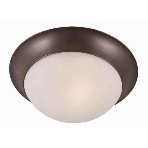 Maxim Lighting 5850FT Essentials-One Light Flush Mount in Early American style-12 Inches wide by 4 inches high
