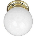 Essentials - One Light Flush Mount - 327863