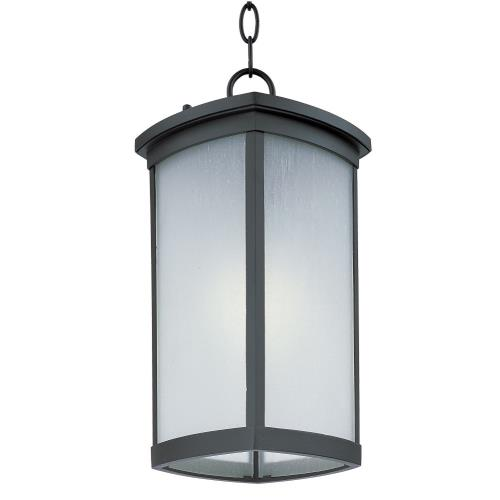 Maxim Lighting 65759FSBZ Terrace - 12W 1 LED Outdoor Hanging Lantern - 8 Inches wide by 16 inches high