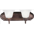 Essentials-2 Light Bath Vanity in Builder style-18 Inches wide by 7 inches high - 246688