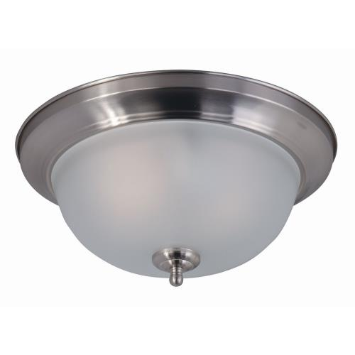Maxim Lighting 85841 Flush Mount EE-Two Light Flush Mount in Contemporary style-13.5 Inches wide by 6 inches high