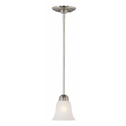 Maxim Lighting 91011 Basix-One Light Mini Pendant in Contemporary style-6.5 Inches wide by 5.5 inches high