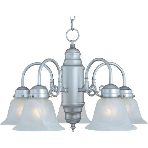 Maxim Lighting 91197 Builder Basics - 5 Light Chandelier - 23 Inches wide by 21 inches high