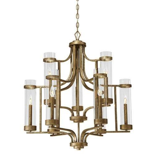 Millennium Lighting 1989 Milan Chandelier 9 Light -30 Inches Wide by 33 Inches High