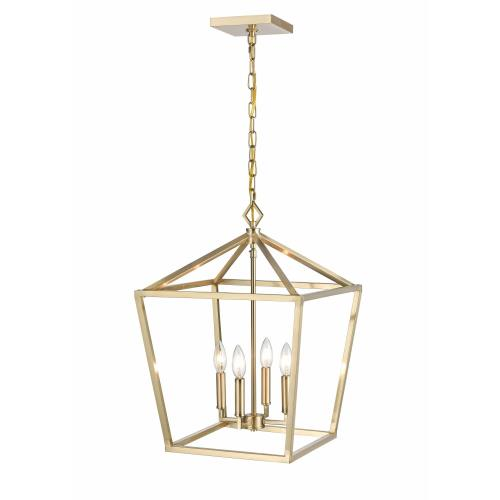 Millennium Lighting 3244 4 Light Pendant-16 Inches Wide by 22.5 Inches High
