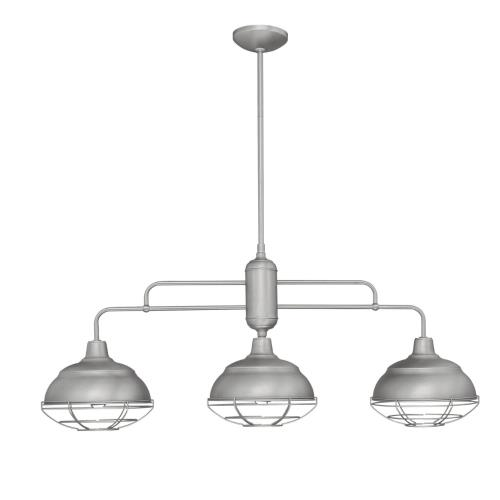 Millennium Lighting 533 Neo-Industrial-3 Light Island-10.25 Inches Wide by 55 Inches High