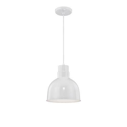Millennium Lighting RDBC10 R Series - 10 Inch One Light Cord Hung Pendant with Deep Bowl Shade