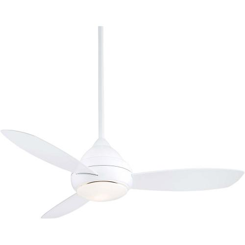 Minka Aire Fans F476L Concept I - Ceiling Fan with Light Kit in Traditional Style - 20.5 inches tall by 52 inches wide