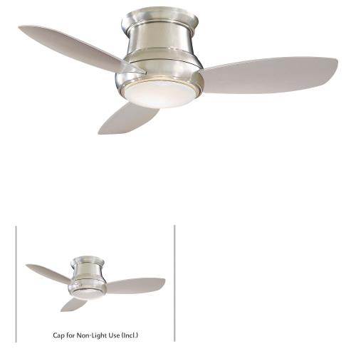 Minka Aire Fans F518L Concept Ii - Ceiling Fan with Light Kit in Traditional Style - 11.5 inches tall by 44 inches wide