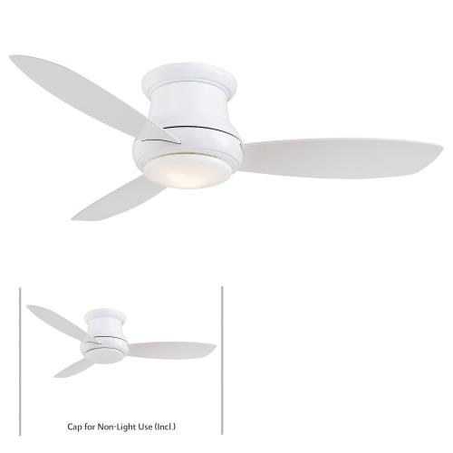 "Minka Aire Fans F518L Concept II - 44"" Ceiling Fan with Light Kit"