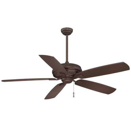 Minka Aire Fans F532 Sunseeker - Outdoor Ceiling Fan in Transitional Style - 16.5 inches tall by 60 inches wide