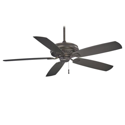 Minka Aire Fans F532-SI Sunseeker - Ceiling Fan in Transitional Style - 16.5 inches tall by 60 inches wide