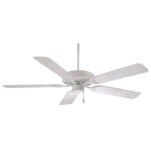 Minka Aire Fans F547 Contractor - Ceiling Fan in Traditional Style - 12.25 inches tall by 52 inches wide