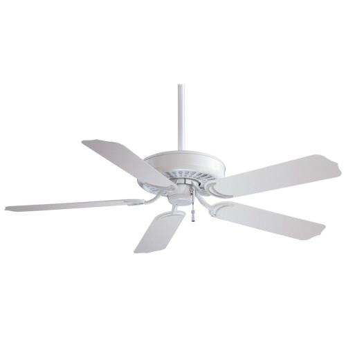 Minka Aire Fans F571 Sundance - Outdoor Ceiling Fan in Traditional Style - 12 inches tall by 52 inches wide