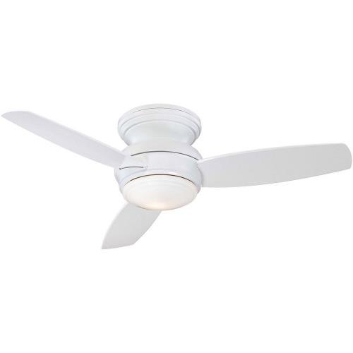 Minka Aire Fans F593L Traditional Concept - Ceiling Fan with Light Kit in Traditional Style - 11 inches tall by 44 inches wide