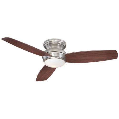 Minka Aire Fans F594L Concept - Ceiling Fan with Light Kit in Traditional Style - 11 inches tall by 52 inches wide