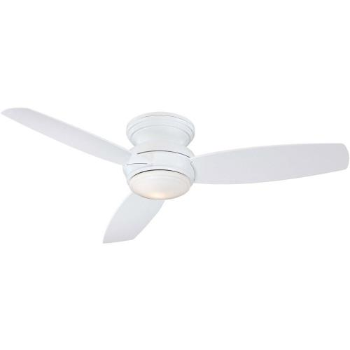 Minka Aire Fans F594L-WH Traditional Concept - Ceiling Fan with Light Kit in Traditional Style - 11 inches tall by 52 inches wide