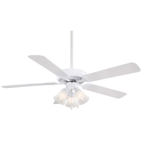 Minka Aire Fans F647 Contractor Uni-Pack - 17.75 Inch Ceiling Fan with Light Kit
