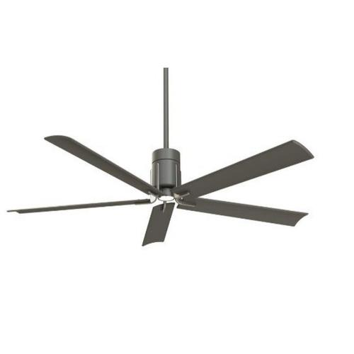 Minka Aire Fans F684L Clean - Ceiling Fan with Light Kit in Transitional Style - 16.5 inches tall by 60 inches wide