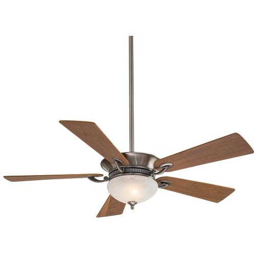 Minka Aire Fans F701 Delano - Ceiling Fan with Light Kit in Transitional Style - 15.5 inches tall by 52 inches wide