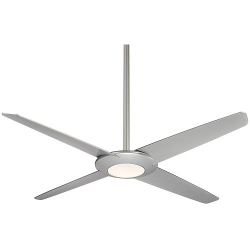 Minka Aire Fans F739LP Pancake XL - Ceiling Fan with Light Kit in Transitional Style - 11 inches tall by 62 inches wide