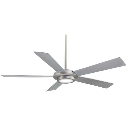 Minka Aire Fans F745 Sabot - Ceiling Fan with Light Kit in Contemporary Style - 12 inches tall by 52 inches wide