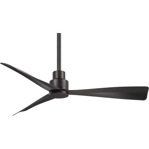 Minka Aire Fans F786 Simple - Ceiling Fan in Transitional Style - 12.75 inches tall by 44 inches wide