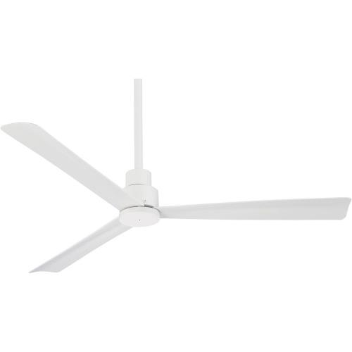 Minka Aire Fans F787 Simple - Outdoor Ceiling Fan in Transitional Style - 12.75 inches tall by 52 inches wide