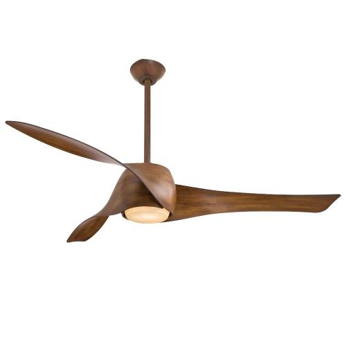 Minka Aire Fans F803DL Artemis - Smart Ceiling Fan with Light Kit in Transitional Style - 15.5 inches tall by 58 inches wide