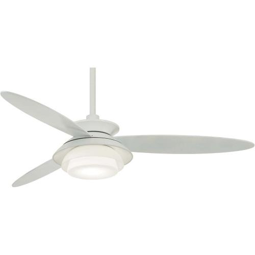 Minka Aire Fans F849L Stack - Ceiling Fan with Light Kit in Transitional Style - 16.75 inches tall by 56 inches wide
