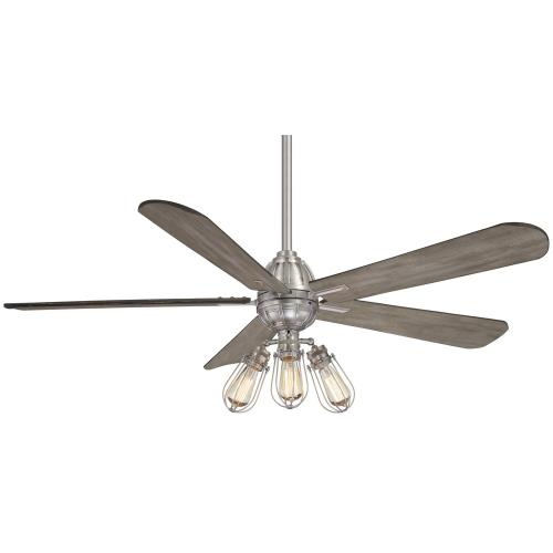 Minka Aire Fans F852L Alva - Ceiling Fan with Light Kit in Transitional Style - 20.5 inches tall by 56 inches wide