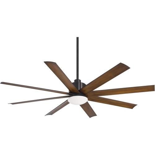 Minka Aire Fans F888 Slipstream - Ceiling Fan with Light Kit in Contemporary Style - 14.75 inches tall by 65 inches wide