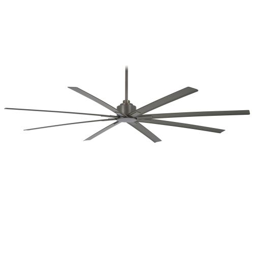 Minka Aire Fans F896-84-SI Xtreme H2O - Outdoor Ceiling Fan in Transitional Style - 13.5 inches tall by 84 inches wide