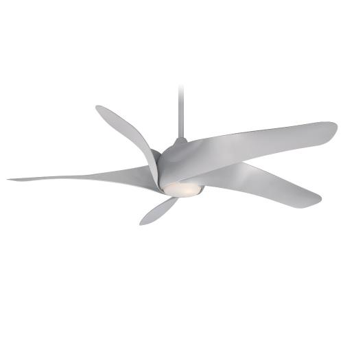 Minka Aire Fans F905L Artemis XL5 - Ceiling Fan with Light Kit in Transitional Style - 13.75 inches tall by 62 inches wide