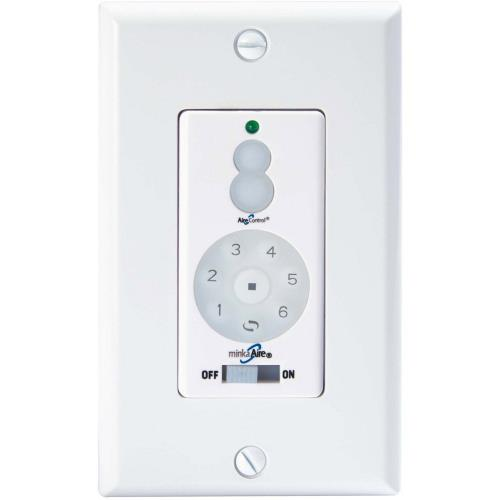 Minka Aire Fans WC600 Accessory - 4.75 Inch Full Function DC Fan Wall Remote Control