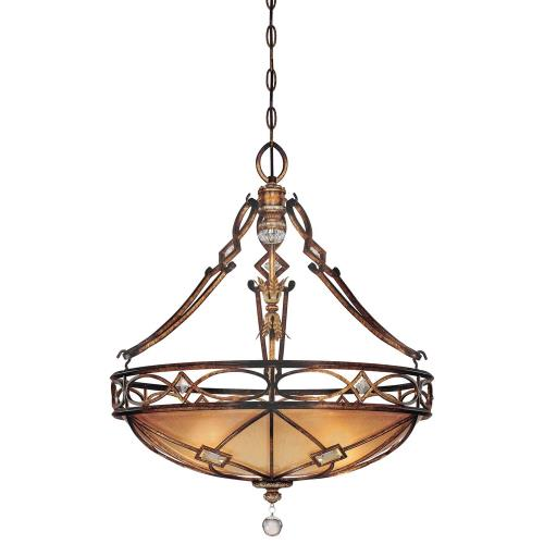 Minka Lavery 1747-206 Aston Court - 3 Light Pendant in Traditional Style - 28.75 inches tall by 24.5 inches wide