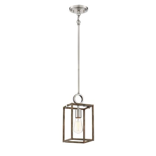 Minka Lavery 4010-280 Country Estates - 1 Light Pendant in Transitional Style - 12.5 inches tall by 6.5 inches wide