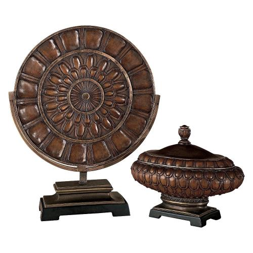 Minka Lavery 40833-0 25.5 Inch Charger Plate And Decorative Box