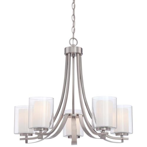 Minka Lavery 4105 Parsons Studio - 5 Light Chandelier