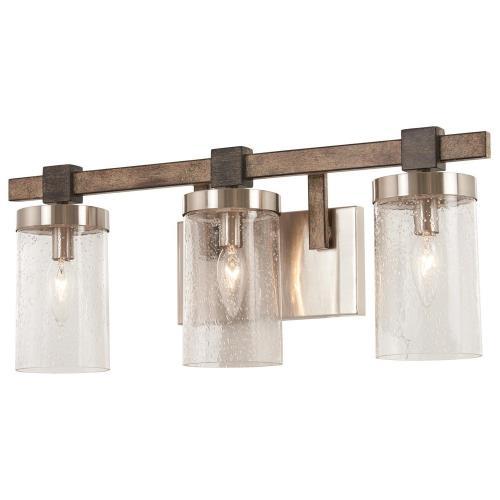 Minka Lavery 4633-106 Bridlewood - Three Light Bath Vanity
