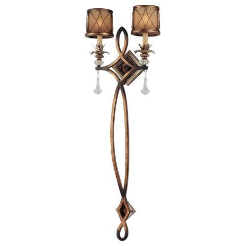 Minka Lavery 4742-206 Aston Court - 2 Light Pin-Up Wall Sconce in Traditional Style - 44.5 inches tall by 15.5 inches wide