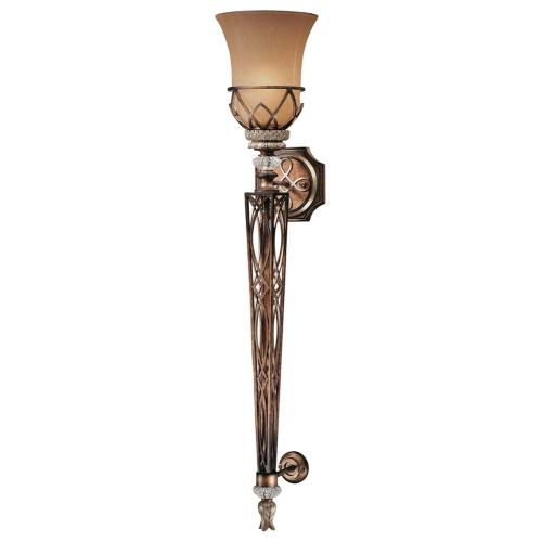 Minka Lavery 4750-206 Aston Court - 1 Light Wall Sconce in Traditional Style - 36 inches tall by 7.25 inches wide