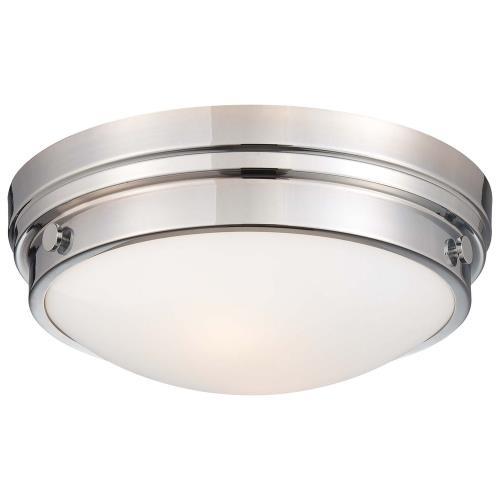Minka Lavery 823-77 Two Light Flush Mount