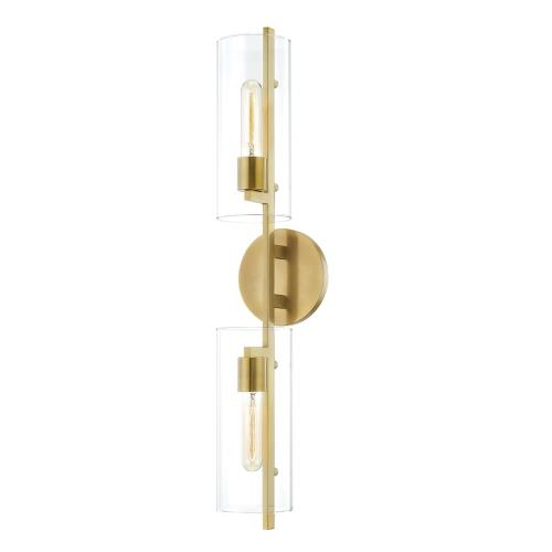 Mitzi H326102 Ariel - Two Light Wall Sconce